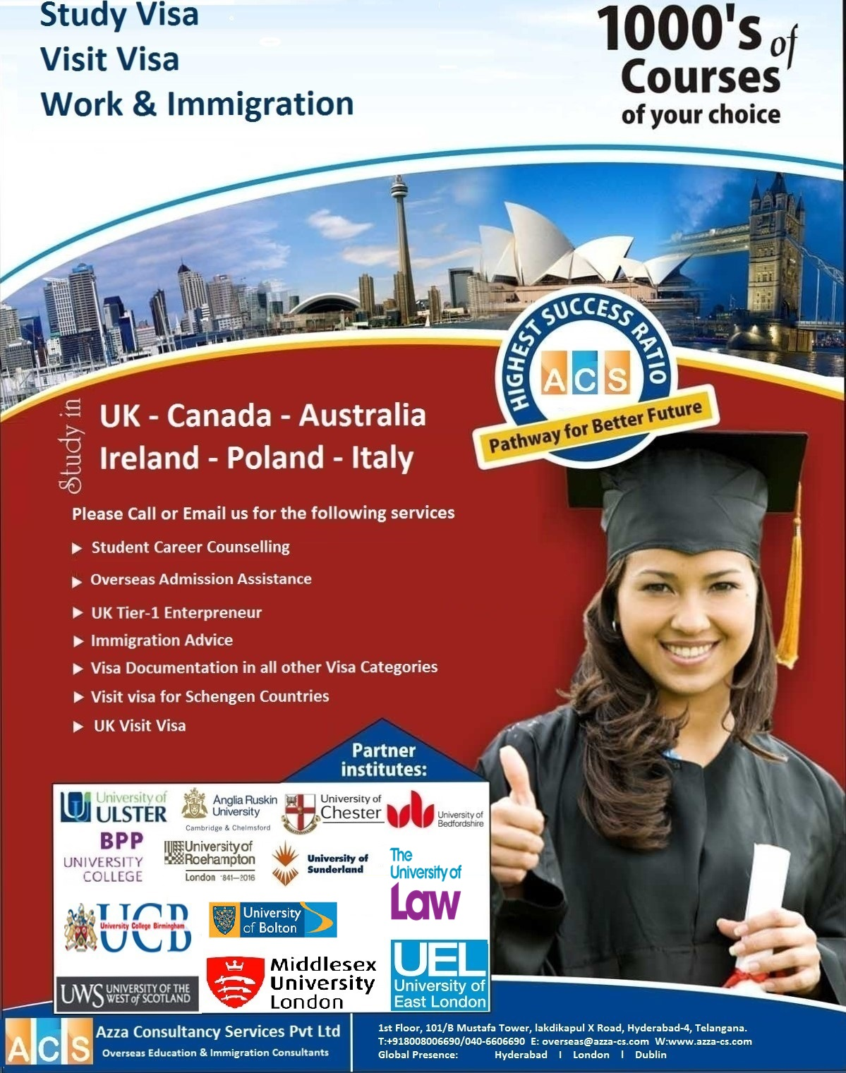 Overseas Education & Immigration Consultants