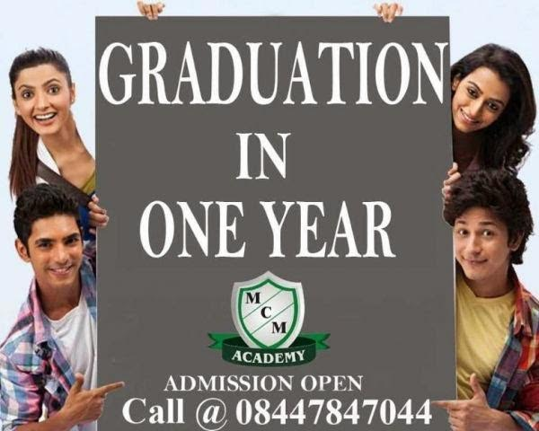 DISTANCE LEARNING COURSES GRADUATION POST GRADUATION DEGREE IN ONE YEAR | BA BBA