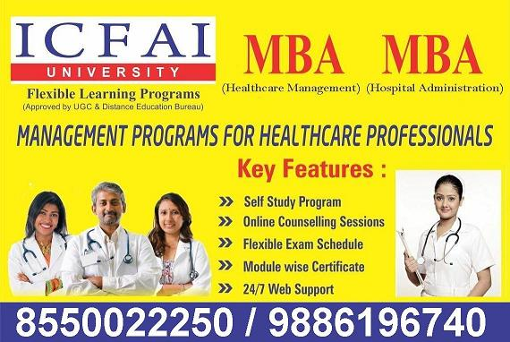 Hospital Administration and Healthcare Management MBA