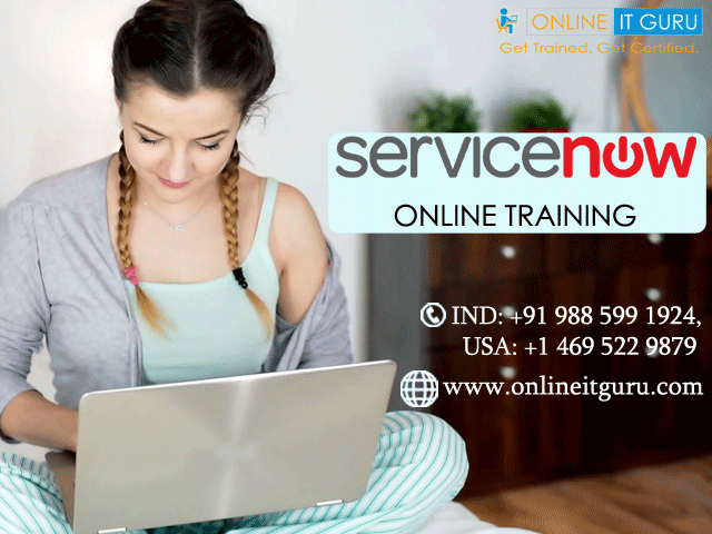 ServiceNow Online Training |Enroll now for free demo get 30% offer
