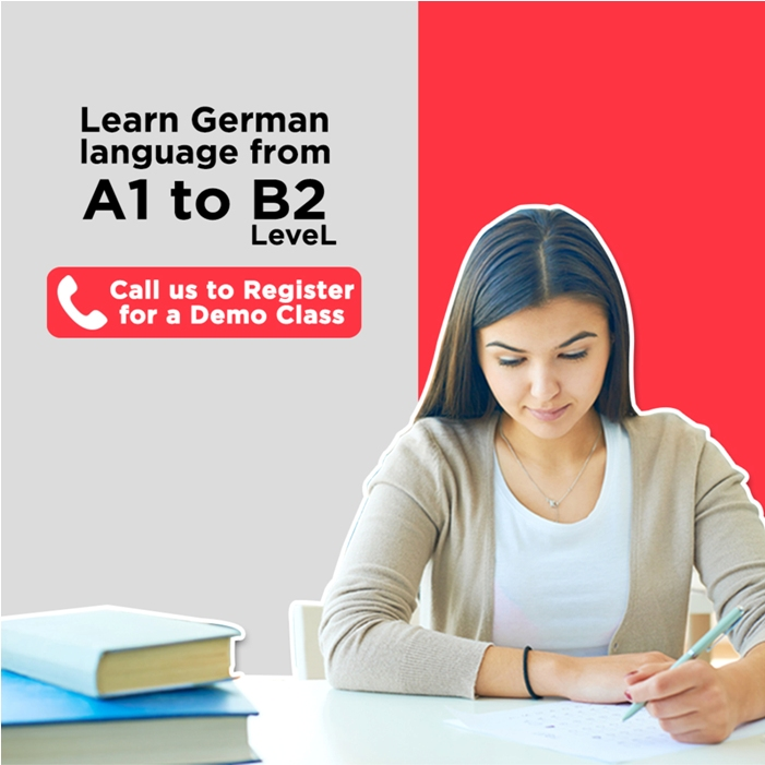 Learn A1, A2, B1, B2 German language from the expert teacher