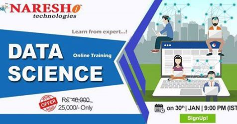 Data Science Online Course In Bangalore - NareshIt