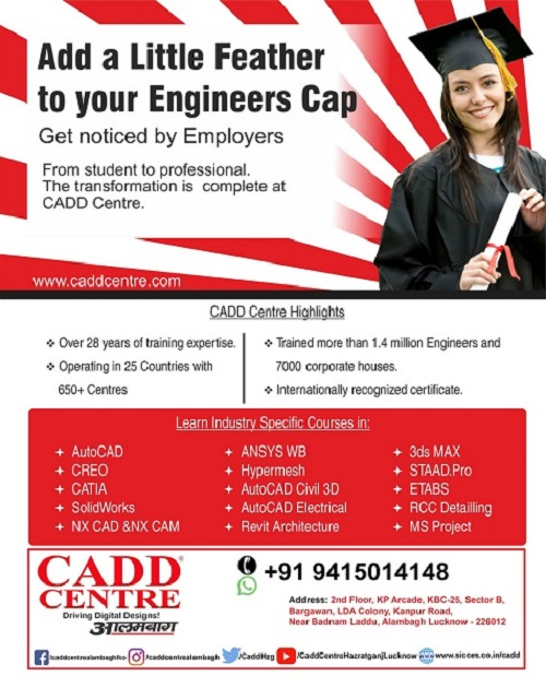 Autocad Training Center Alambagh Lucknow