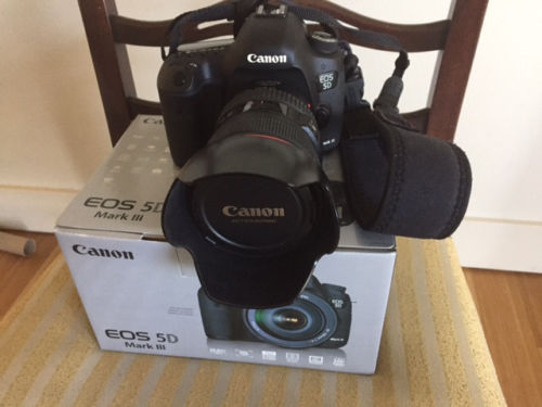 canon eos 5d mark iii 22.3mp digital dslr camera With 24-105mm Lens