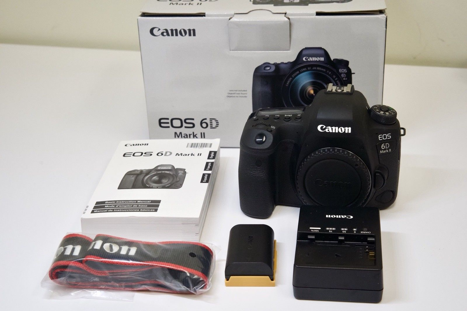 Affordable Canon EOS 6D Mark II 26.2MP Digital SLR Camera