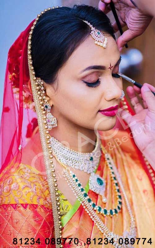 Best bridal makeup artists in hyderabad | best makeup artists in hyderabad | bridal makeup services in hyderabad