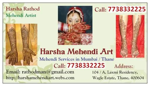 Harsha Bridal Mehendi Art - Mulund, Mumbai & Thane