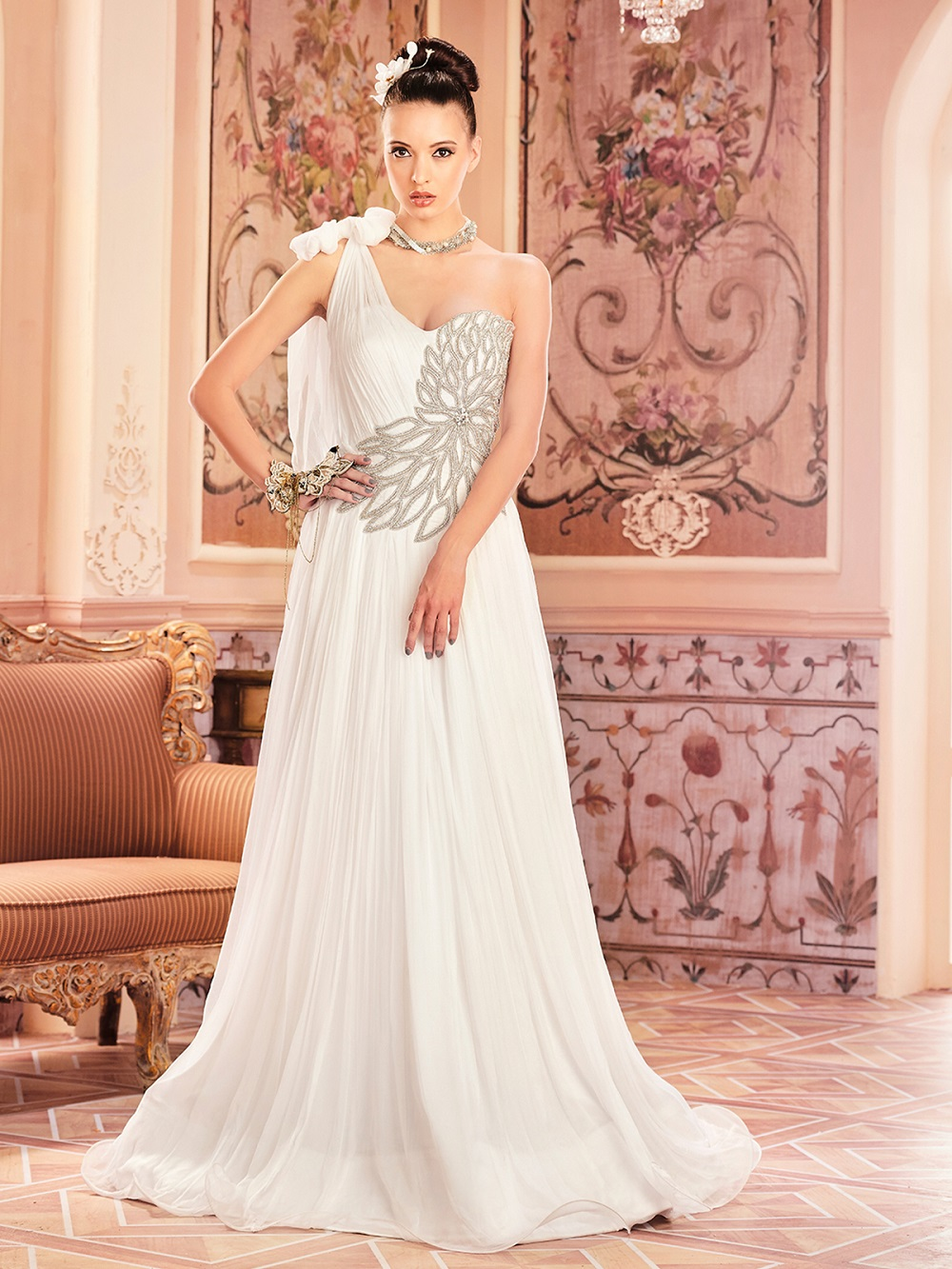 Gorgeous One Shoulder Partywear Gowns At Best Price Classified At