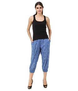 Regular Fit Capri- UpTo 50% off on Capris online in Shoppyzip