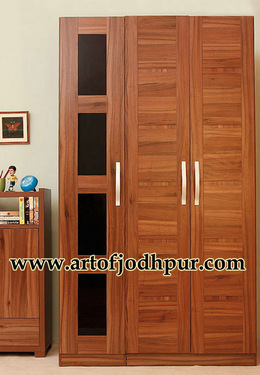 Royals wooden 3 door wardrobe
