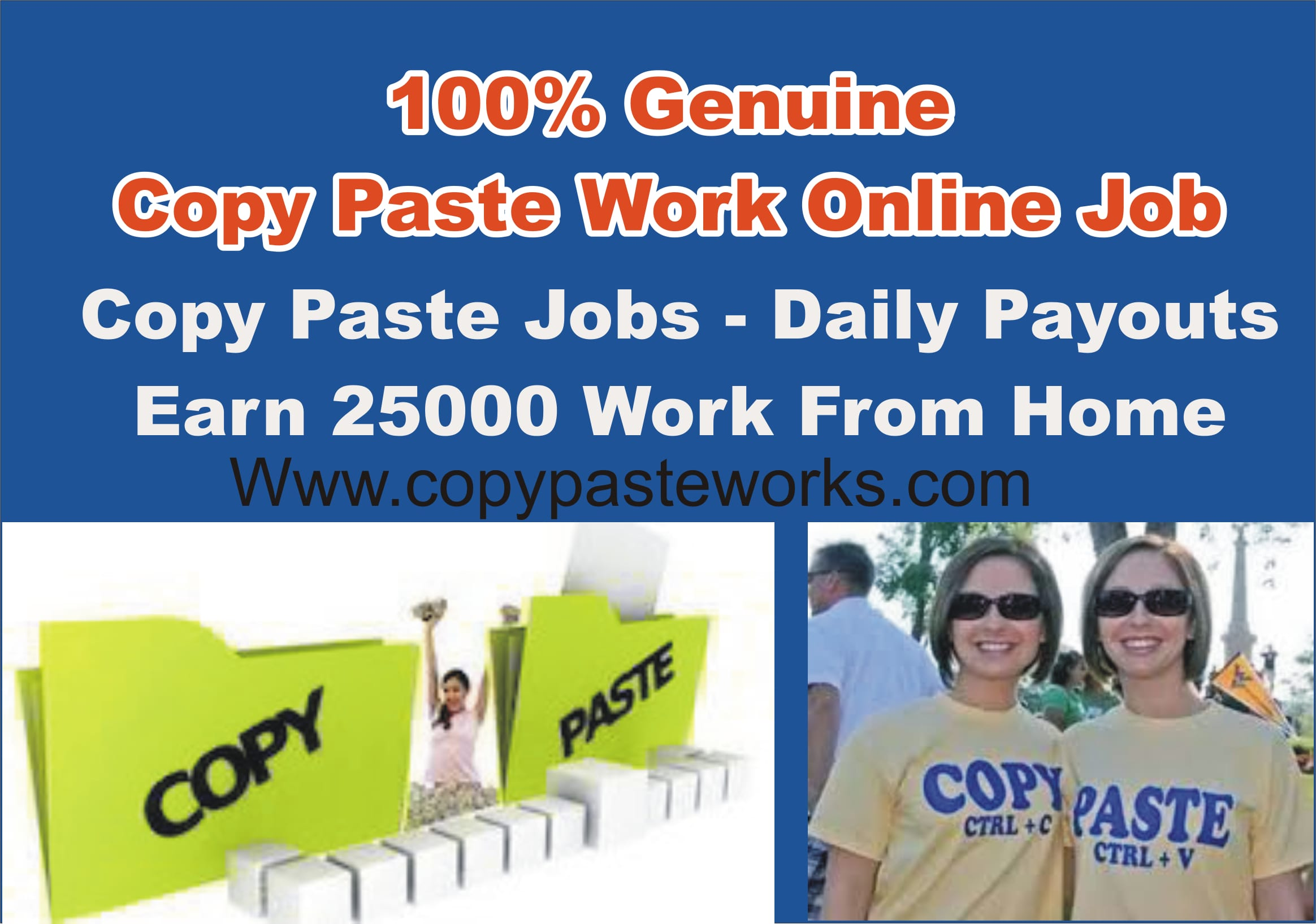 Work From Home Govt Registered pany online jobs classified