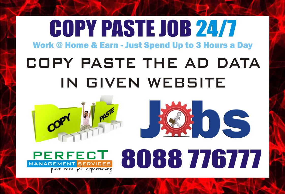 Online Jobs Without Registration Fee And No Investment Job