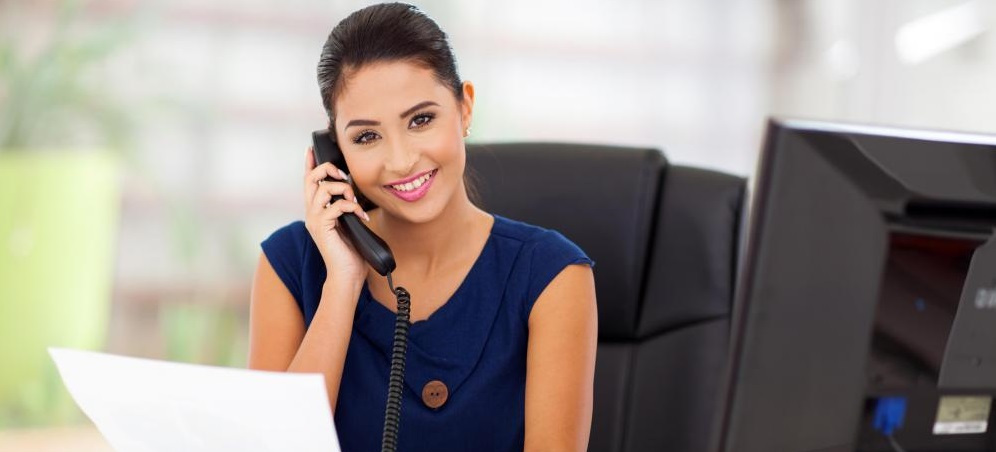 female personal assistant & receptionist