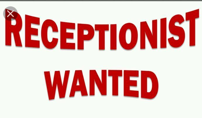 Required receptionist