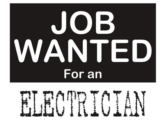 Wanted Electricians