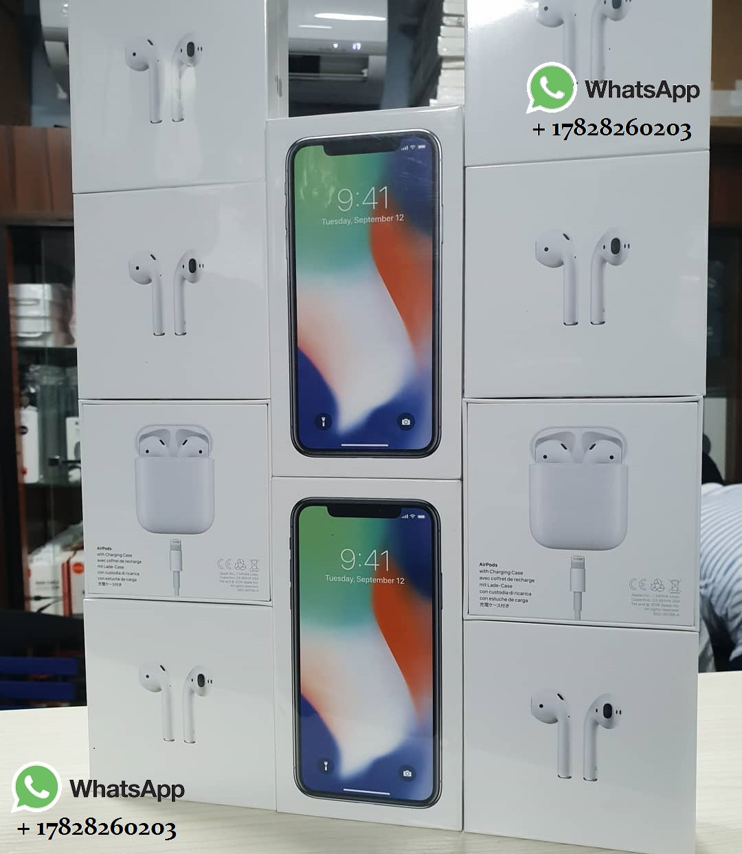 Stock price iPhone X iwatch iPhone 8 8Plus Free EarPods Apple