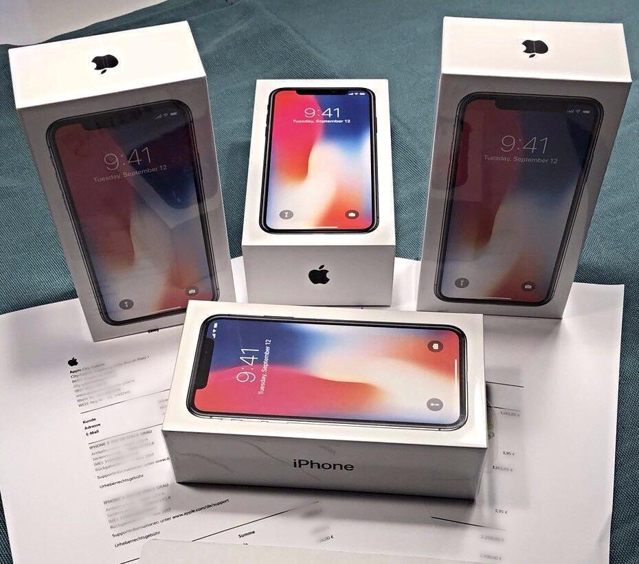 Apple iPhone X & 8-8Plus Unlocked