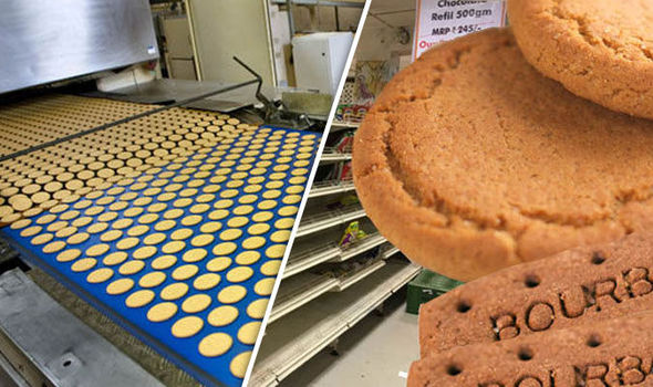 RUNNING BISCUIT Factory for sale
