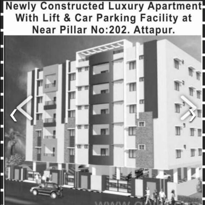 New dlx. Flats for sales, 3BHK