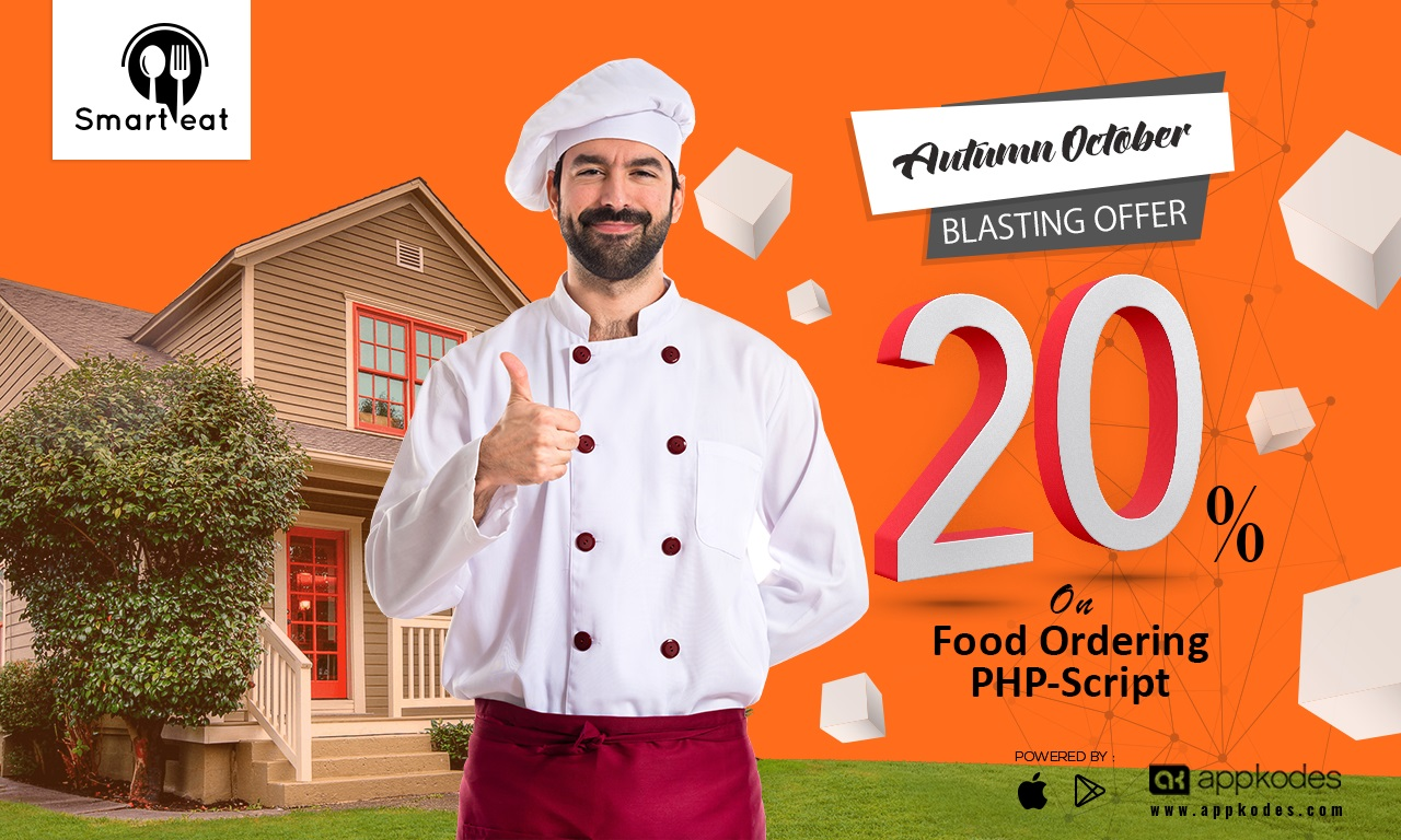 Restaurant-online food order 20%offer