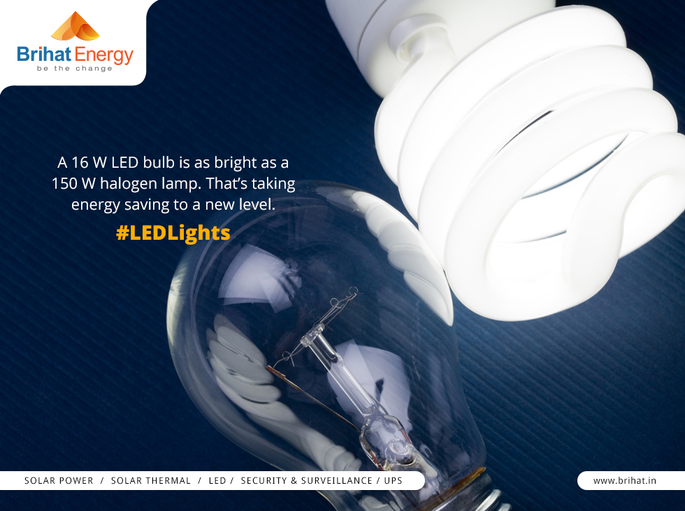 LED lighting solutions for Home and Office - Brihat Enegry