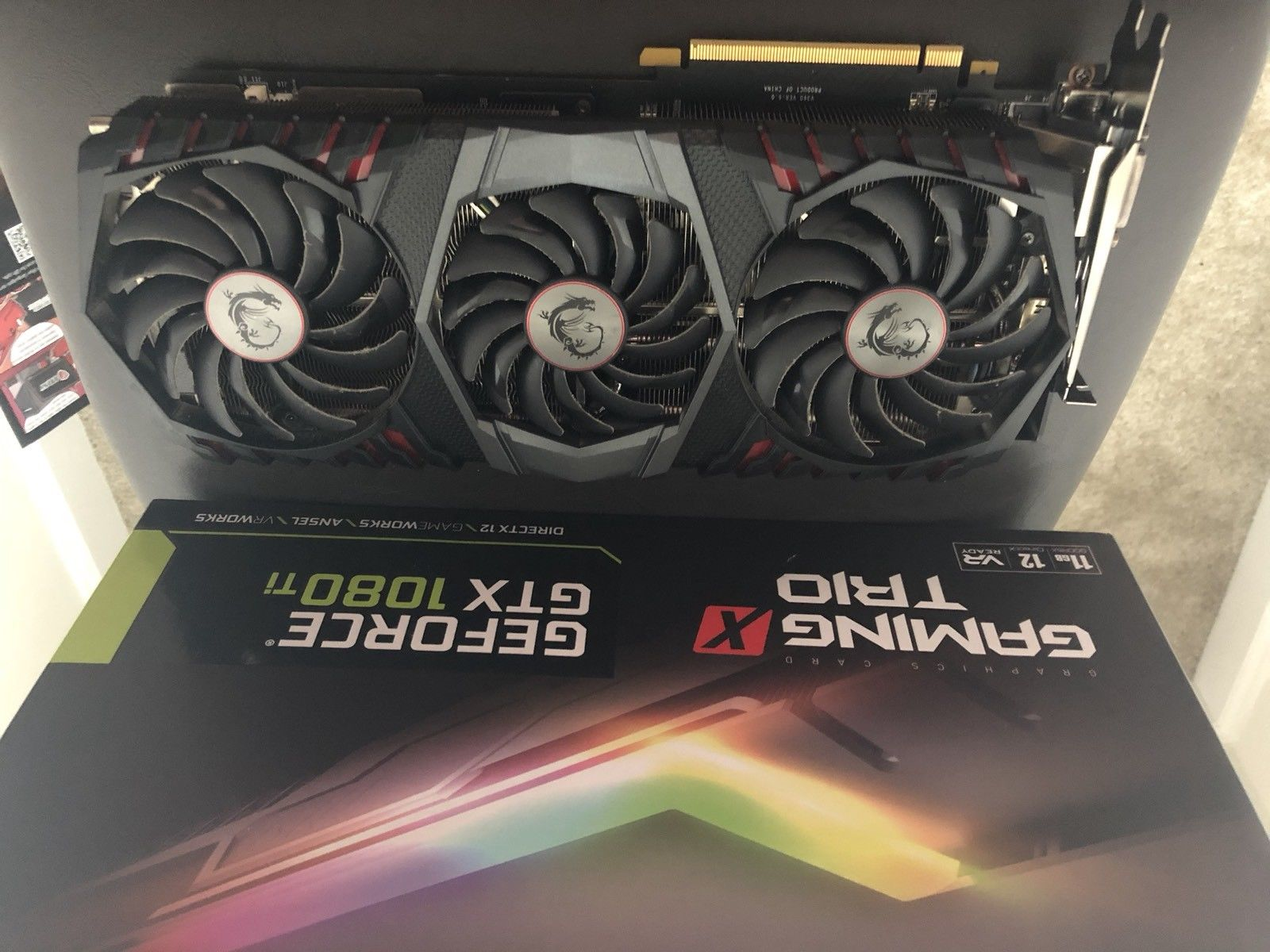 For Sale Graphic Cards Asic S9x3r4 L3 D3 Gtx 1080rx580 Asus Geforce 1080 Ti 11gb Ddr5x Rog Poseidon Strix Oc Edition 1080ti