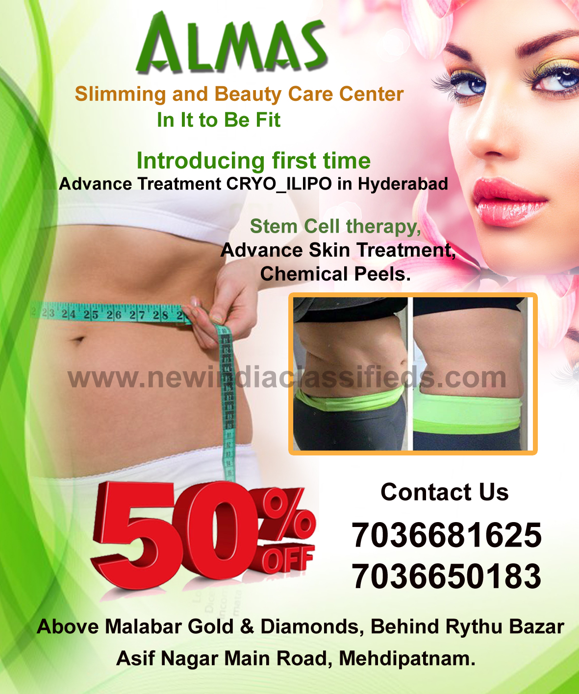 Slimming and beauty care center