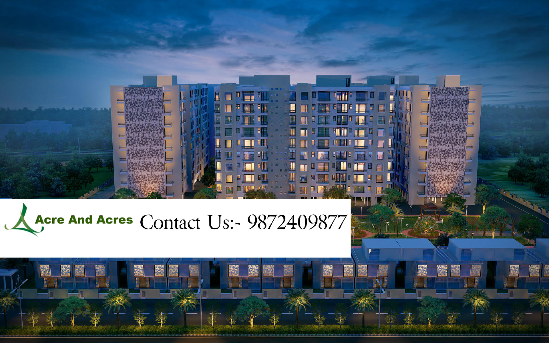 Acrenacres | 3/4 Bhk flats, apartments for sale in sushma Chandigarh Grande